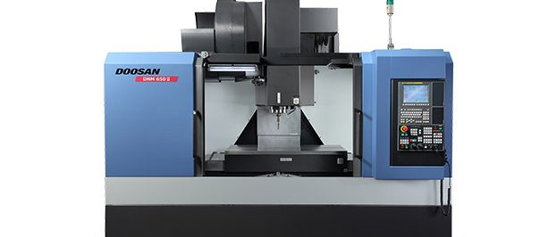 DOOSAN DNM 500 II WITH 4TH AXIS